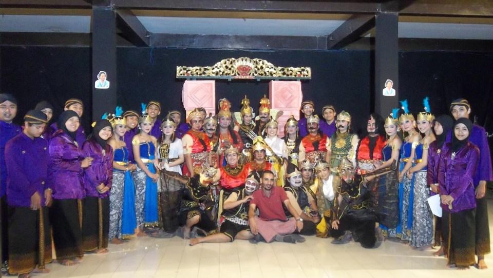 Wayang Orang Balai Budaya Minomartani - sri wisnu